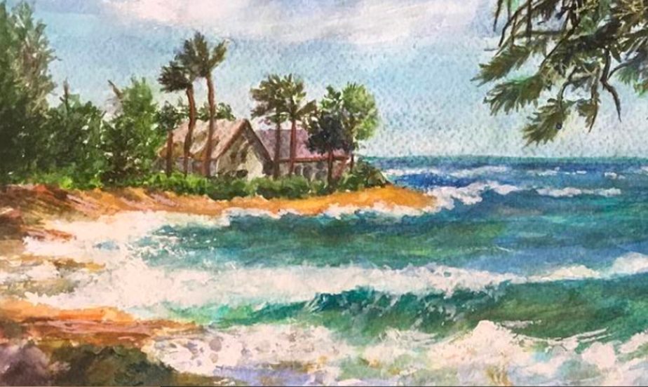 Paradise Found Painting